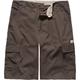 BURNSIDE Mens Microfiber Cargo Shorts
