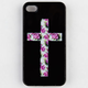 Floral Cross iPhone 4/4S Case