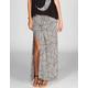 FULL TILT Geometric Print Maxi Skirt