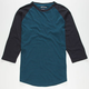 RVCA Westerly Mens Baseball Tee