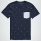LIRA Anchors Mens Pocket Tee