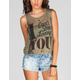 FULL TILT Can't Stop Womens Muscle Tank