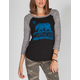 BILLABONG Unique Love Womens Baseball Tee