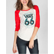 VANS Carnival California Womens Baseball Tee