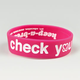 KEEP A BREAST Check Your Self Bracelet