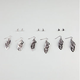 6 Pairs Stud/Dangle Earrings