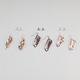 6 Pairs Stud/Dangle Earrings