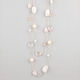FULL TILT Ivory Bead Station Necklace