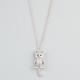 FULL TILT Rhinestone Cat Necklace