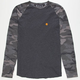 BILLABONG Camo Raglan Mens T-Shirt