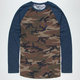 BILLABONG Camo Raglan Mens T-Shirt