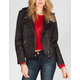 OTHERS FOLLOW Womens Twill Moto Jacket