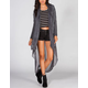ANAMA Knit/Woven Womens Duster