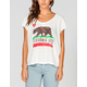 BILLABONG Flower Bear Womens Tee