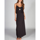 NEBLINA Flounce Maxi Dress