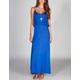 NEBLINA Flounce Maxi Dress