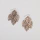 FULL TILT Filigree Leaf Chandelier Earrings