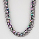 FULL TILT Abalone Bead Chain Necklace