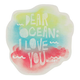 BILLABONG Dear Ocean Sticker