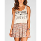 FULL TILT NY/London Womens Hachi Crop Tank