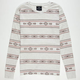 SHOUTHOUSE Tribal Print Mens Thermal