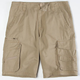 SUBCULTURE Mens Ripstop Cargo Shorts
