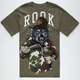 ROOK Wolf Sickle Mens T-Shirt