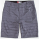 MICROS Special Stripe Mens Hybrid Shorts