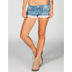 ALMOST FAMOUS Crochet Trim Womens Shorts