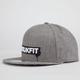 TRUKFIT Original Gunmetal Drip Mens Snapback Hat