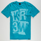 KR3W Ransom Crystal Wash Mens T-Shirt