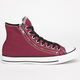 CONVERSE Chuck Taylor Double Zip Hi Mens Shoes