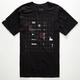 RVCA Layout Mens T-Shirt