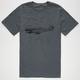 RVCA Samson Plane ANP Mens T-Shirt