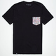 LIRA Botanic Mens Pocket Tee