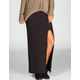 FULL TILT Single Slit Maxi Skirt