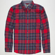 ELEMENT Twisted Mens Flannel Shirt