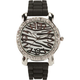 Zebra Rhinestone Watch