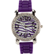 Zebra Rhinestone Watch