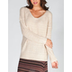 FULL TILT Essential Womens Boyfriend Sweater