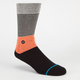 STANCE Black Top Mens Crew Socks