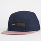 KR3W Refused Mens Denim 5 Panel Hat