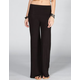 FULL TILT Fold Waistband Womens Palazzo Pants