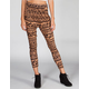 FULL TILT Tribal Print Pleated Womens Skinny Pants
