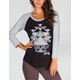 HURLEY In Paradise Womens Baseball Tee