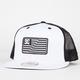 DC SHOES RD Flag New Era Mens Trucker Hat