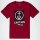 CAPTAIN FIN Collage Mens T-Shirt