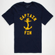 CAPTAIN FIN Bold Anchor Mens T-Shirt