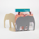 STREAMLINE Elephant Silhouette Bookends
