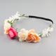 Multi Flower Headwrap